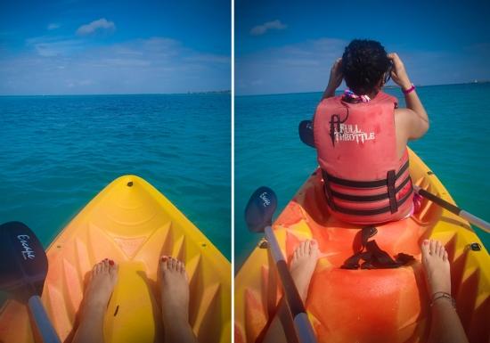 Bahamas - kayaking