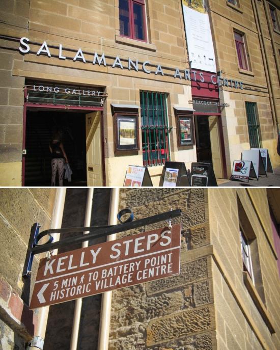 Hobart: Salamanca Place