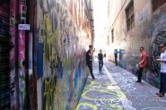 Melbourne Graffiti walls