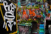 Melbourne Graffiti walls: Hosier Lane