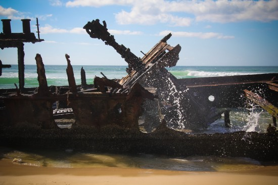 Fraser Island-MahenoShipwreck