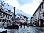 Main square Chamonix