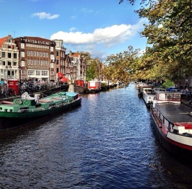 Autumn in Amsterdam: Amsterdam, Netherlands