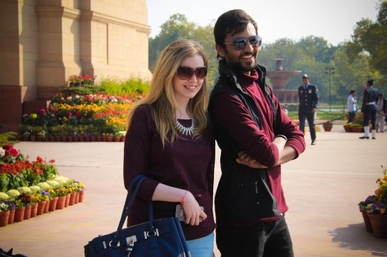 India Gate tourist