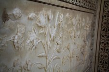 Marble carvings at Taj Mahal