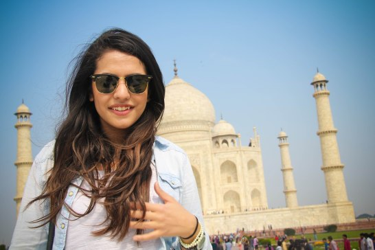Roop at Taj Mahal