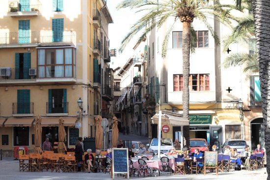 Palma de Mallorca square