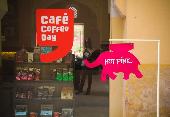 Cafe Coffee Day at Amer Fort Jaipur Rajasthan