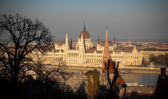 Budapest world heritage view