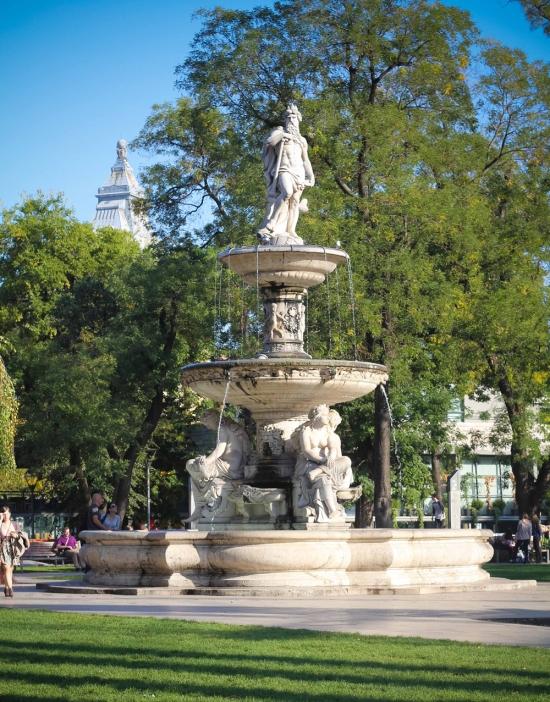 Budapest Danube Fountain