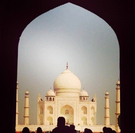Taj Mahal: a wonder of the world