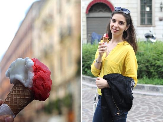Milan gelato