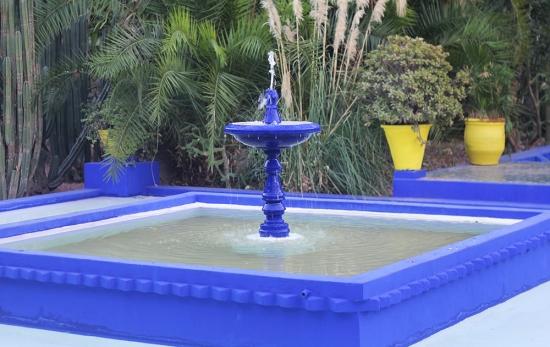 Majorelle Garden Marrakech YSL gardens